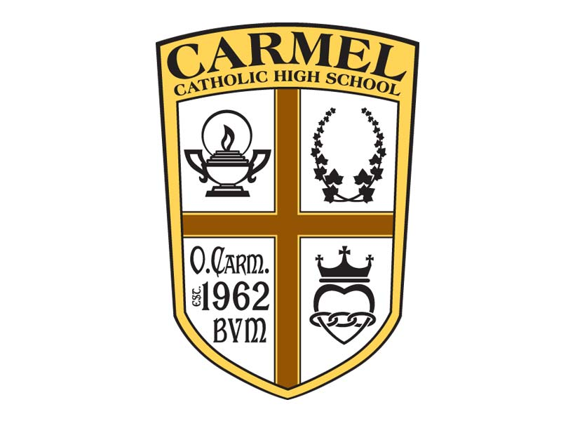 Carmel Catholic High School Crest