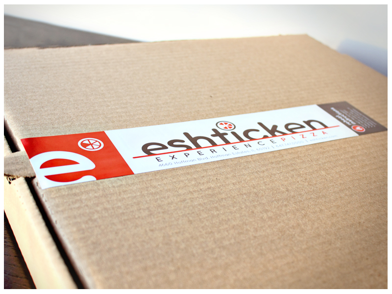 Eshticken Pizza Box