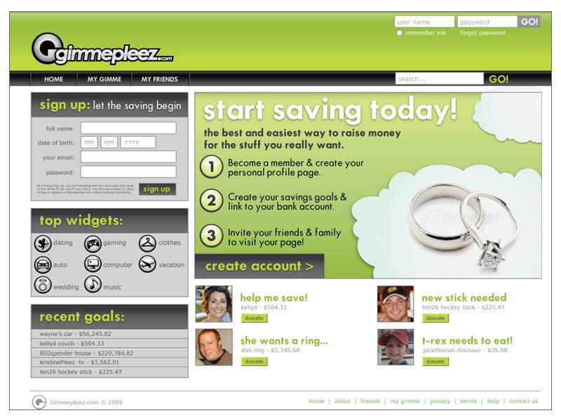 Gimmepleez.com Website