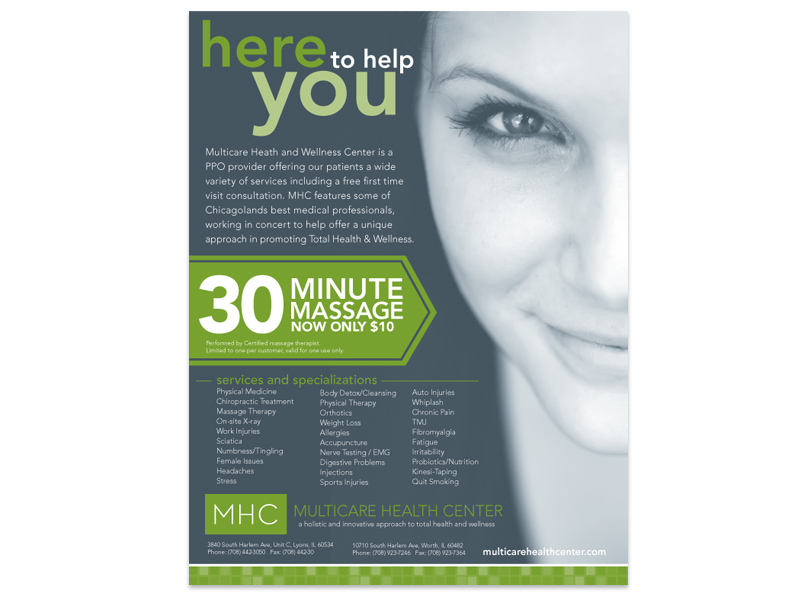 Multcare Health Center Flyer